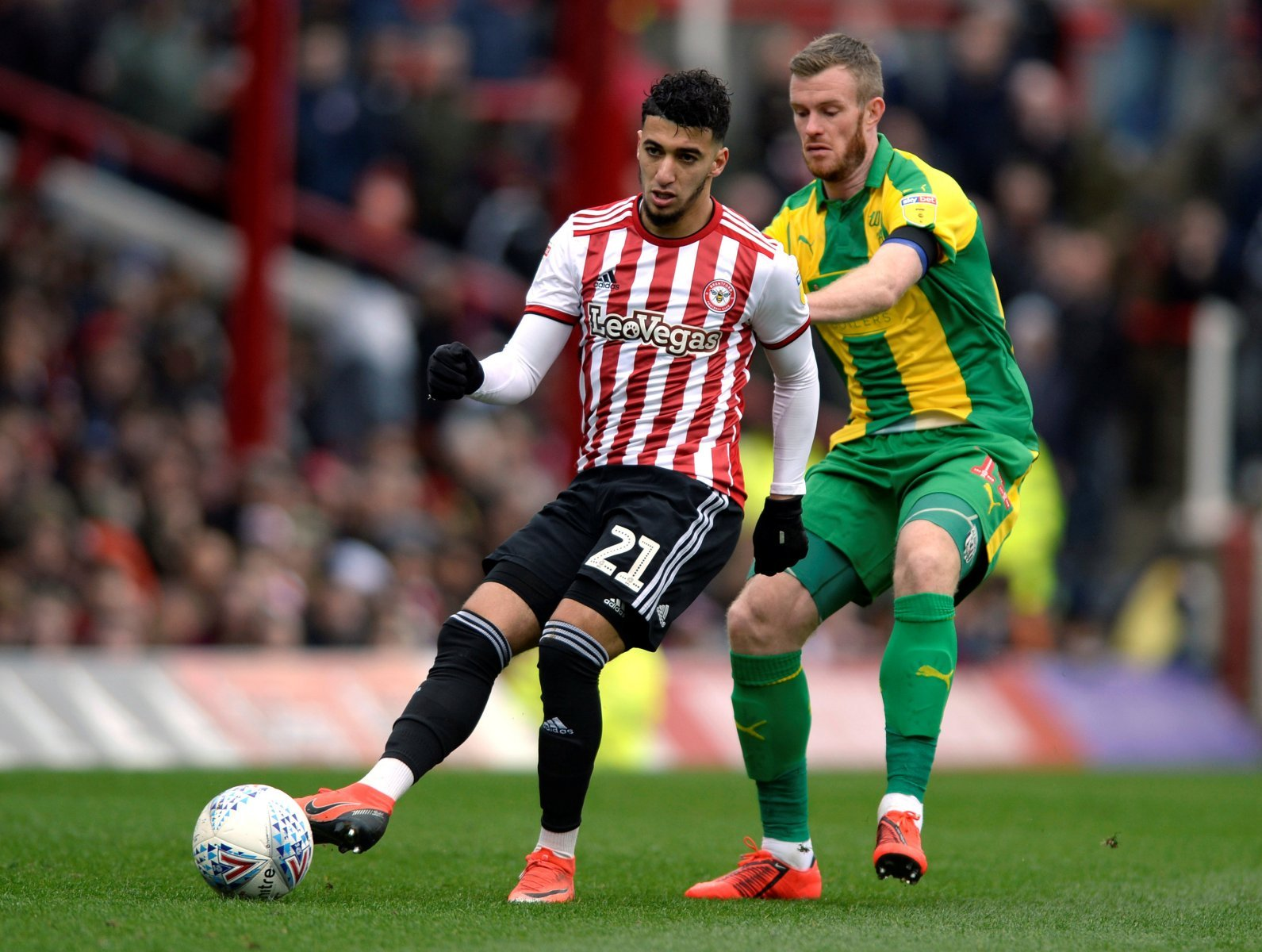 Newcastle: Toon considered move for Brentford forward Benrahma in summer