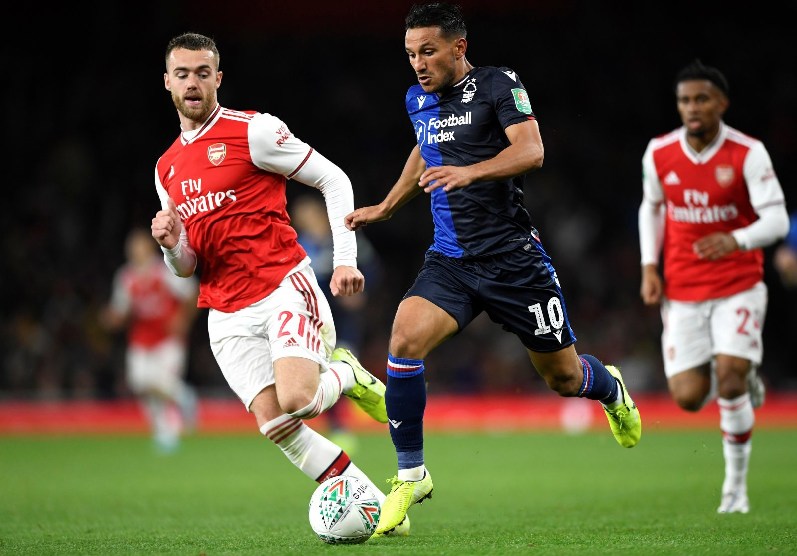 Arsenal: Fans laud Calum Chambers after crucial interception in Sunday's win