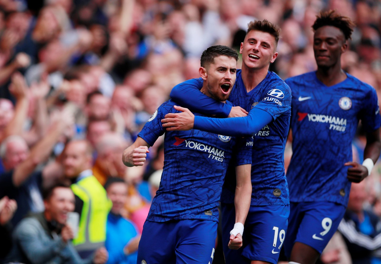 Chelsea: Fans call for Frank Lampard to name Jorginho after Brighton & Hove Albion win