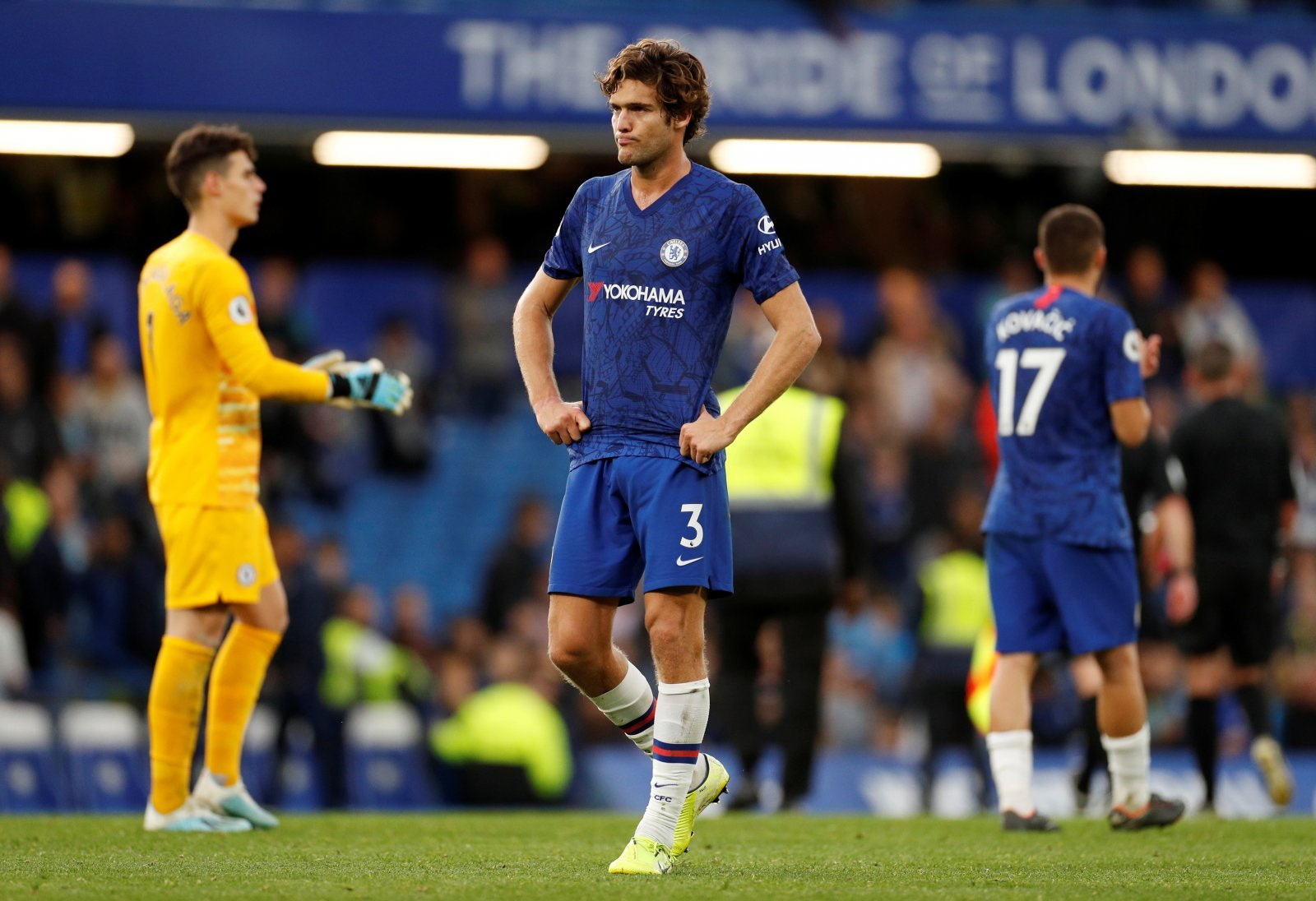 Chelsea: Fans have backed Marcos Alonso on Twitter with positive views