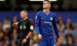 Chelsea's Mason Mount reacts v Liverpool