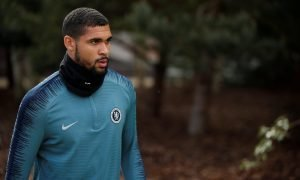 Chelsea's Ruben Loftus-Cheek during training