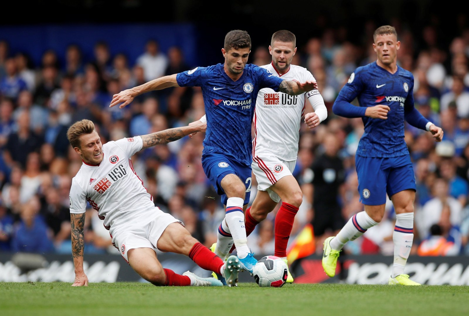 Chelsea: Fans call for Frank Lampard to start Christian Pulisic against Brighton and Hove Albion