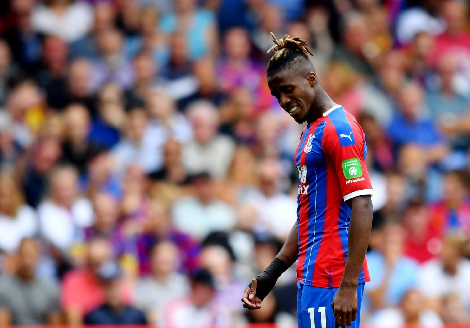 Crystal Palace: Fans react to Wilfried Zaha lambasting report