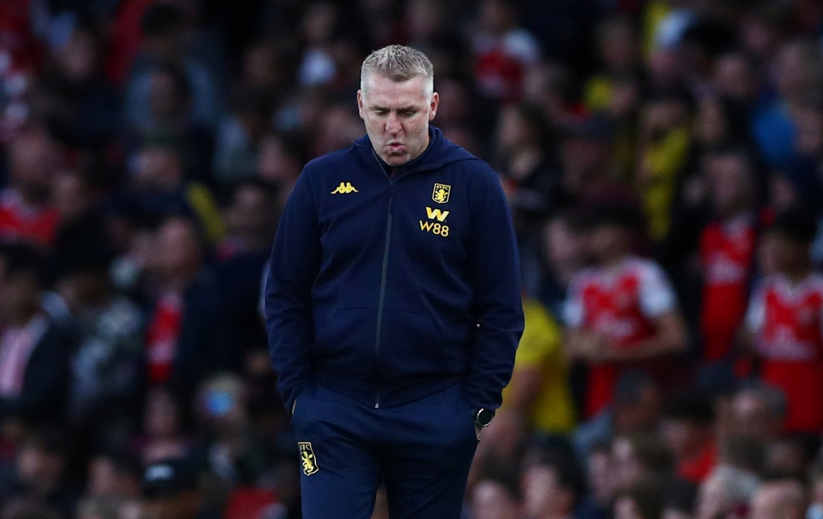 Aston Villa: Fans furious over call for Dean Smith to resign as manager