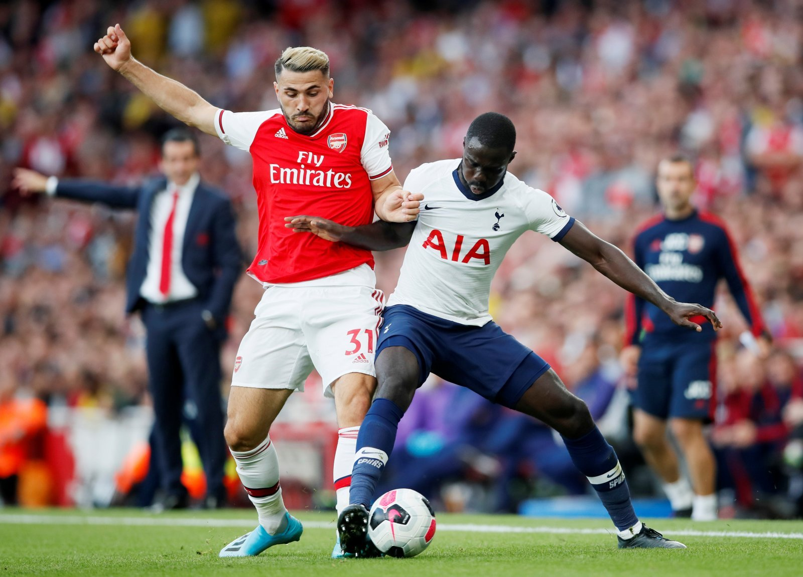 Tottenham Hotspur: Fans were delighted with what they saw from Davinson Sanchez