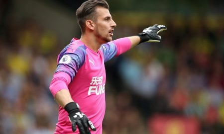 Dubravka Newcastle United's Martin Dubravka during Norwich match August 2019