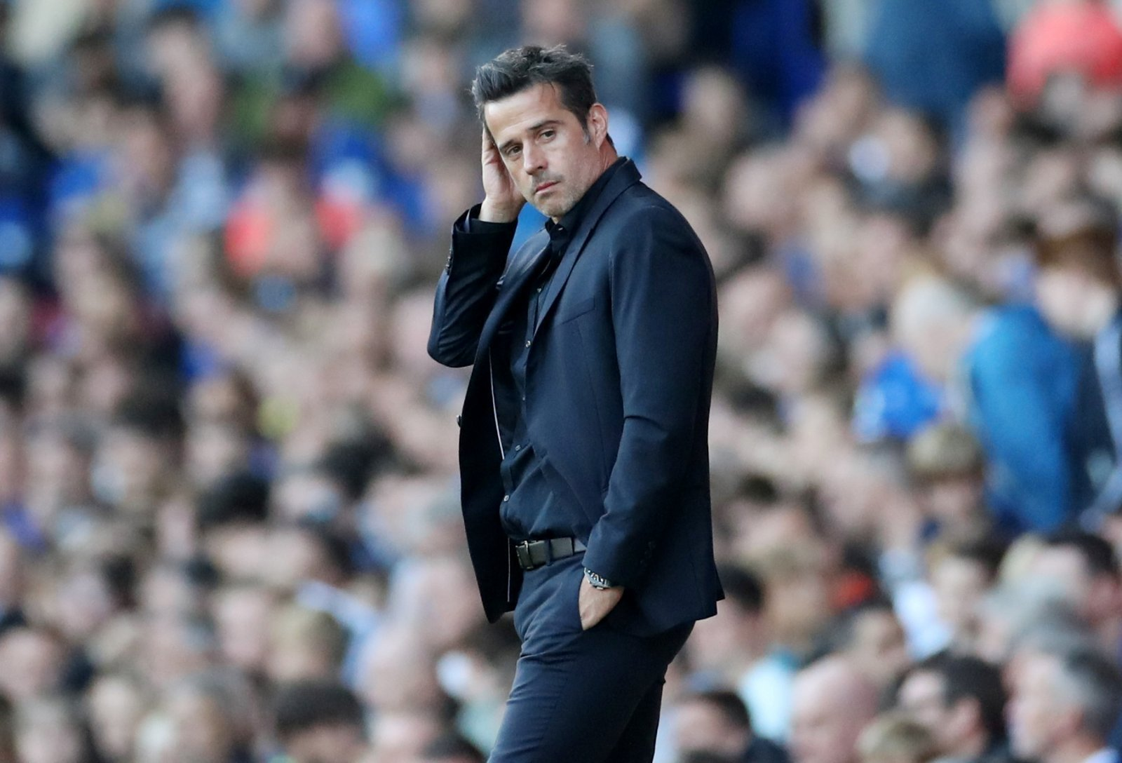 Everton: Fans send furious messages as patience runs out for Marco Silva