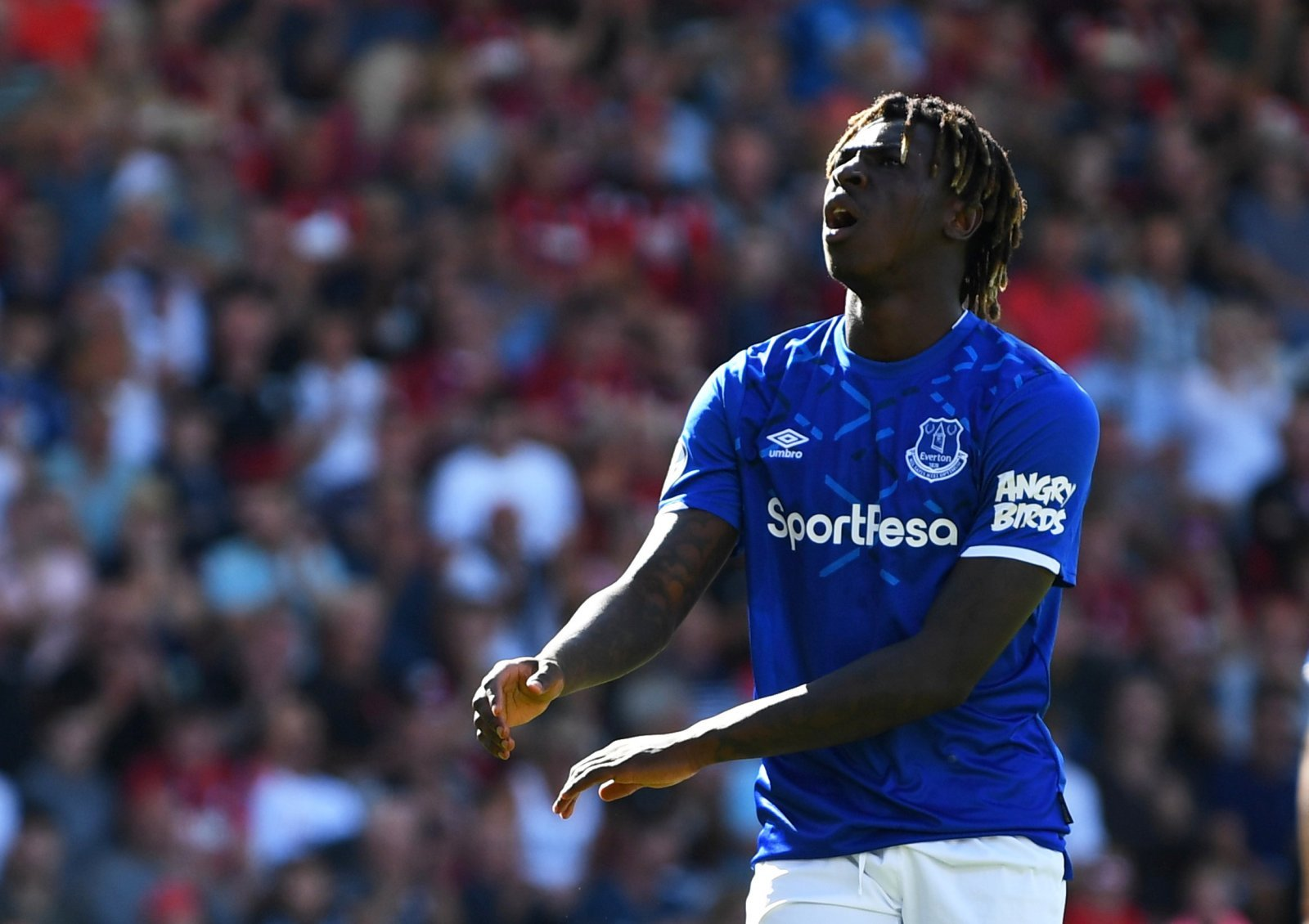 Everton: Fans respond to Moise Kean revelation after the striker was dropped