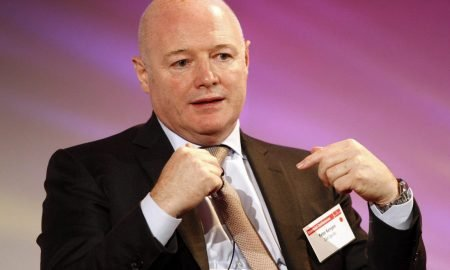 Former CAA Sports Managing Director Peter Kenyon speaking during the Global Sports Summit, 2010