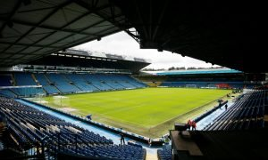 General view inside Elland Road ahead of Leeds United v Nottingham Forest