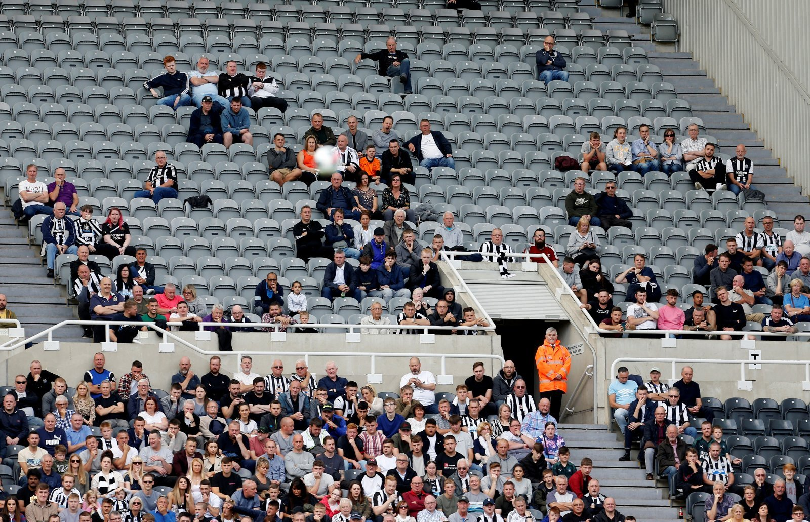 Newcastle United: Fans take issue with St. James' Park 'fortress' claims