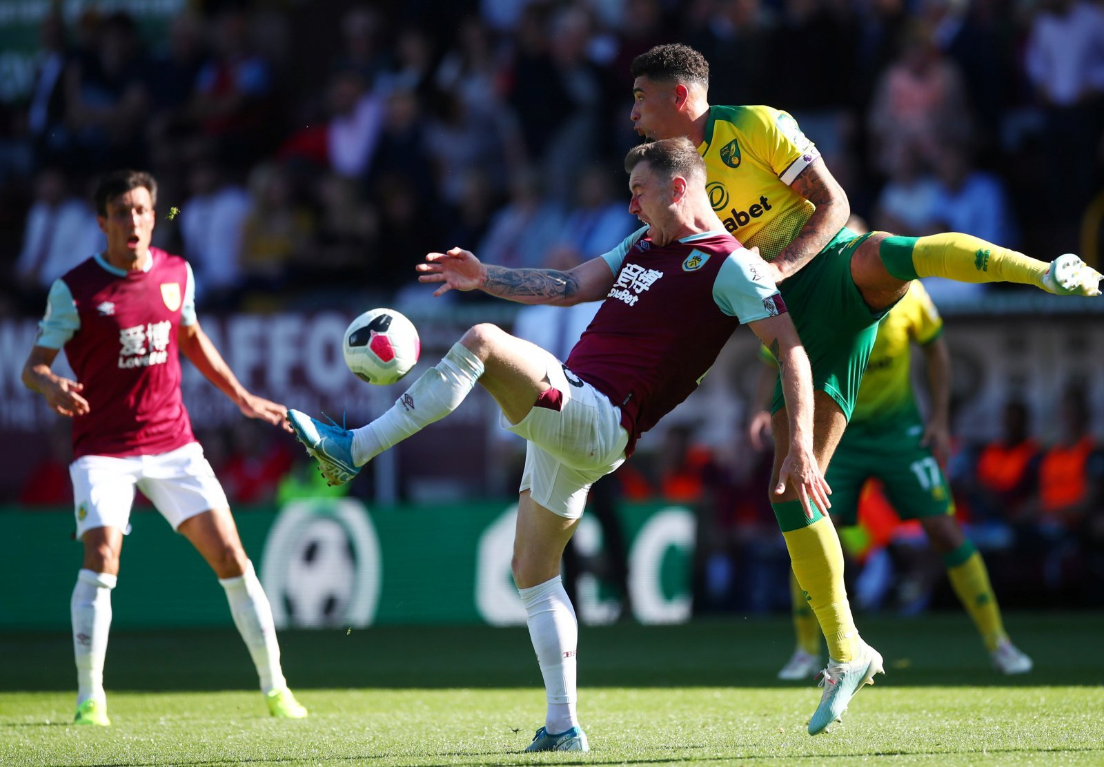 Norwich City: Fans support Ben Godfrey after second consecutive 2-0 loss