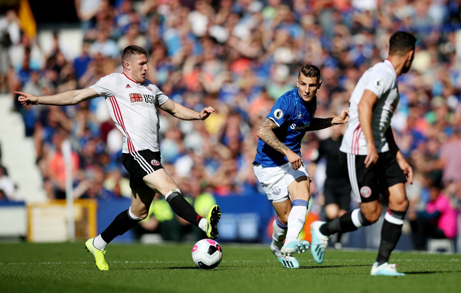 Sheffield United: Fans react to phenomenal John Lundstram touch against Arsenal