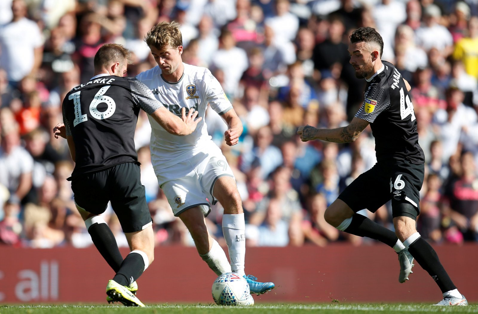 Leeds United: Fans reflect on Patrick Bamford's key moment in Derby County draw