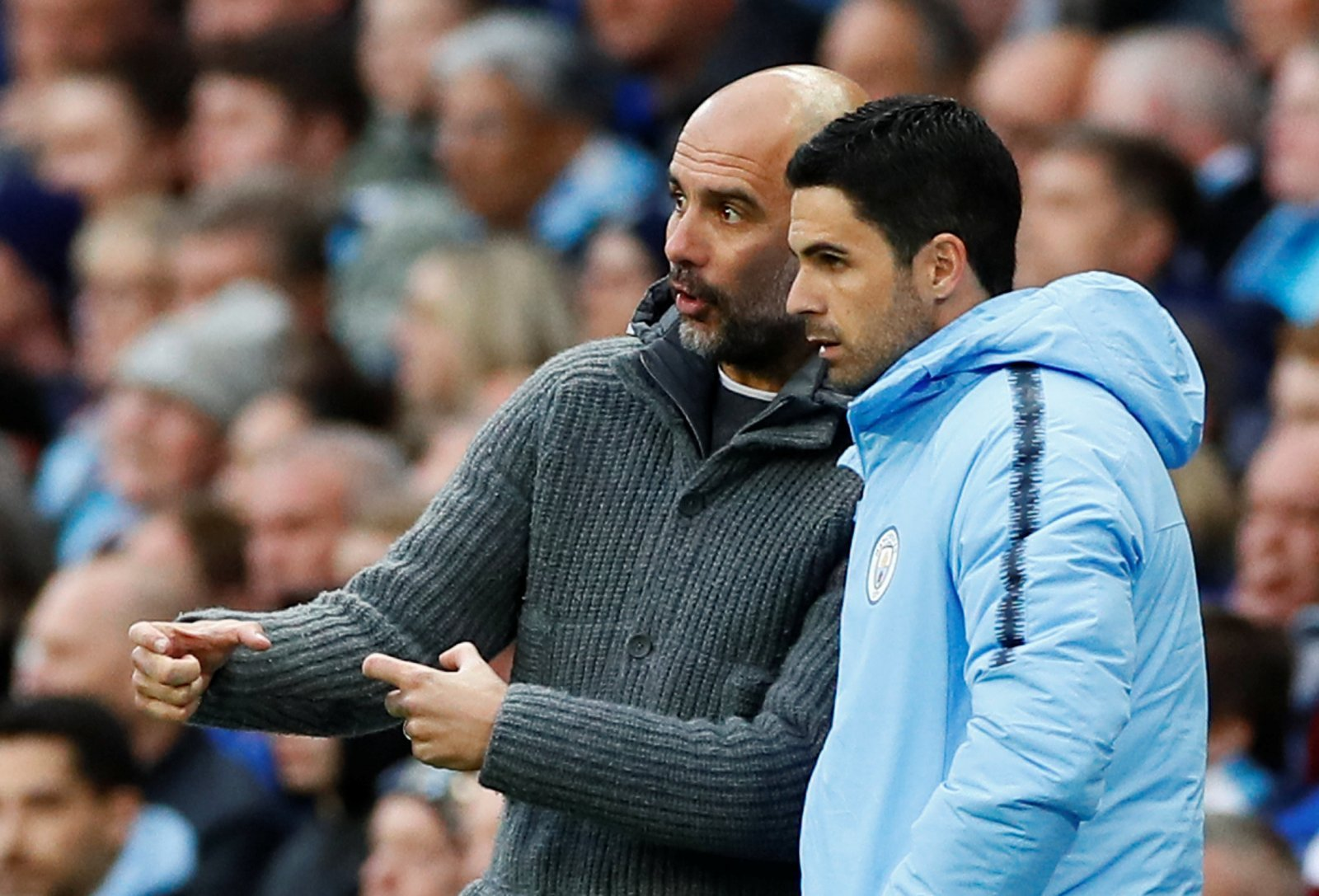 Manchester City: Fans dismiss Arsenal interest in Mikel Arteta as managerial candidate