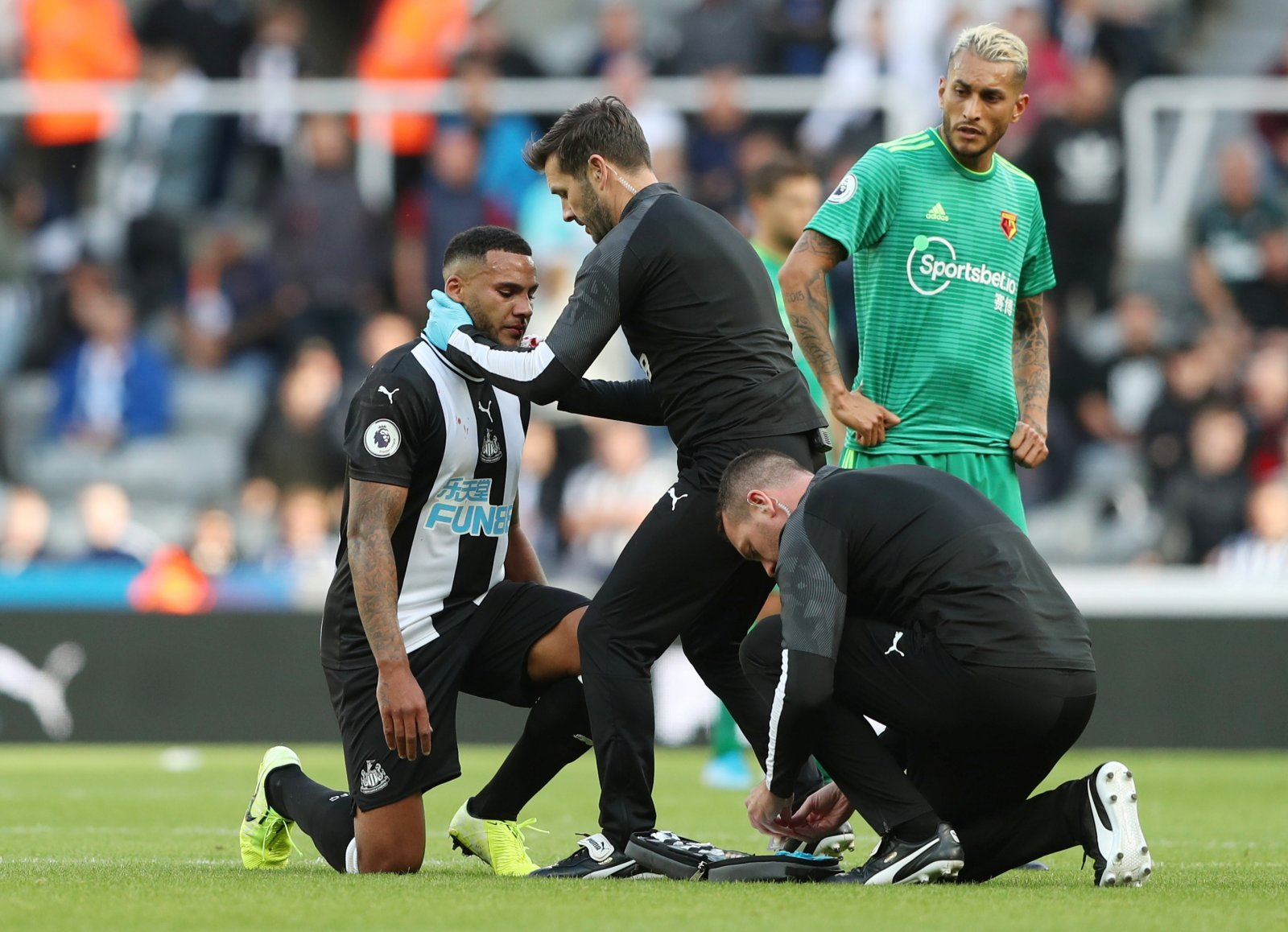 Newcastle United: Fans reply to Lascelles after Toon defender reflects on Watford draw