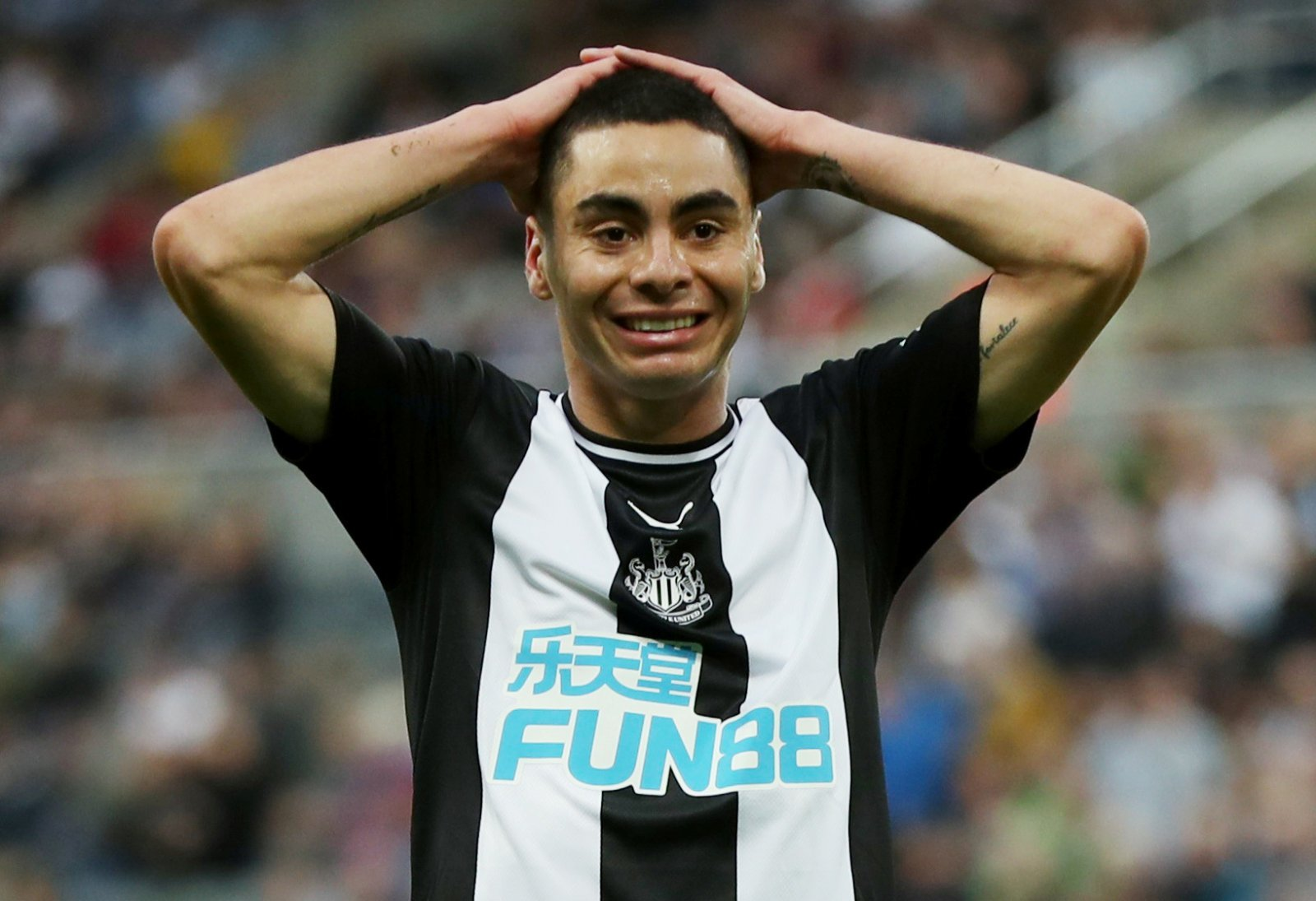 Newcastle United: Fans react to Miguel Almiron's heartwarming gesture
