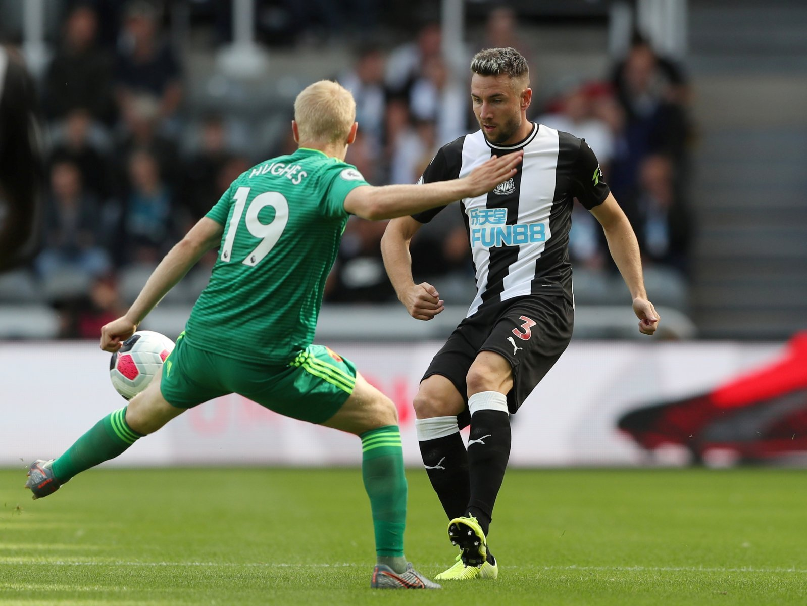 Newcastle United: Fans are disheartened over Mark Douglas' team of the decade