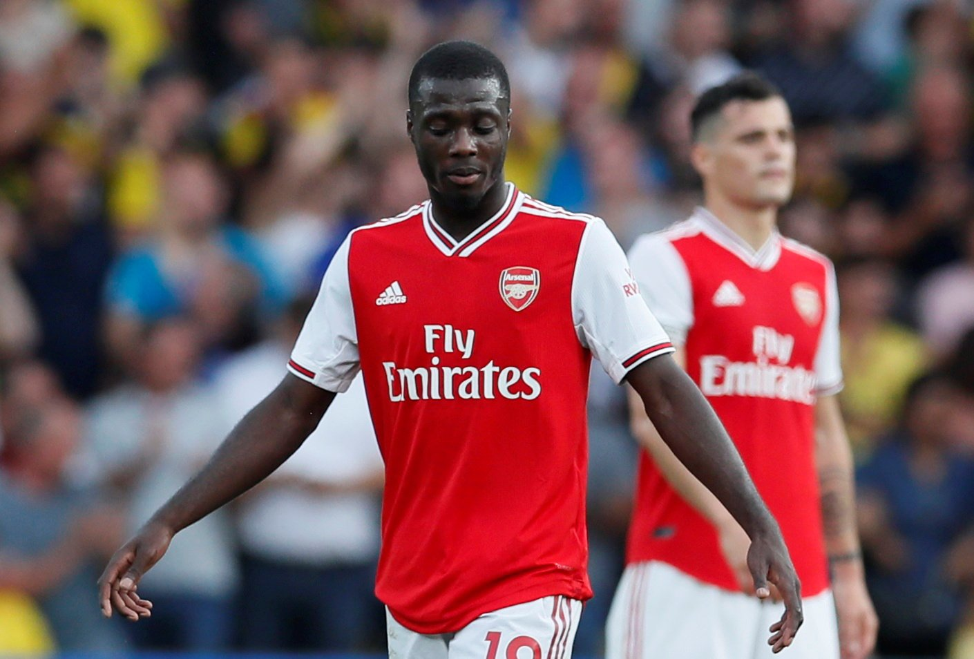 Arsenal: Fans criticise Nicolas Pepe after Watford showing
