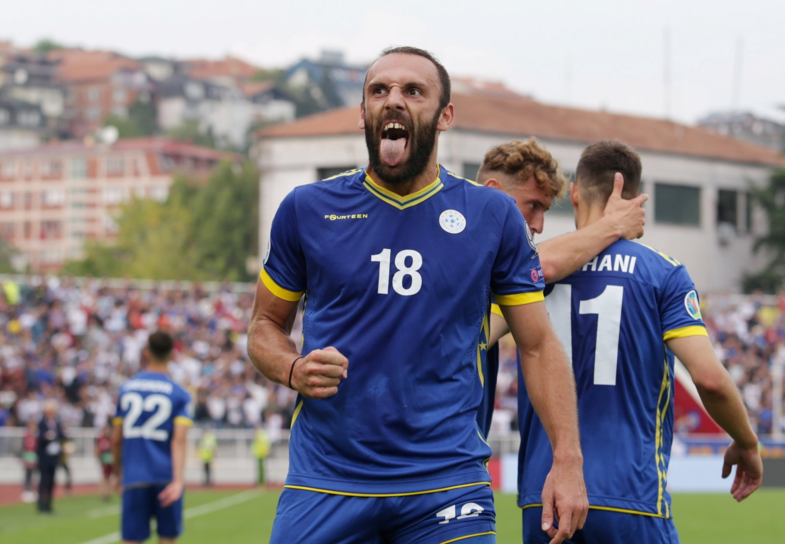 Tottenham Hotspur: Spurs eyeing Vedat Muriqi as they watch him in action for Kosovo