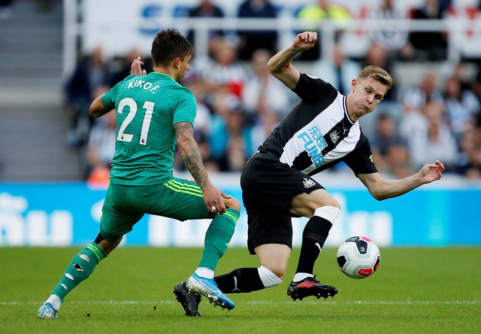 Newcastle: Krafth happy with start to life at St. James' Park