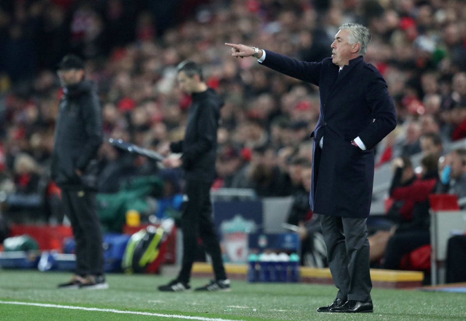 Liverpool: Fans appreciate Carlo Ancelotti's comments after defeat to Napoli