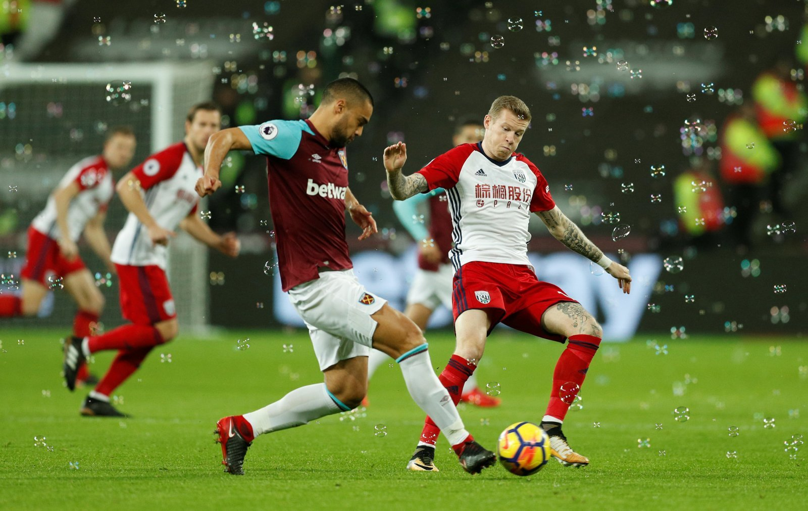 West Ham United: Many fans were over the moon to see Winston Reid's return to action