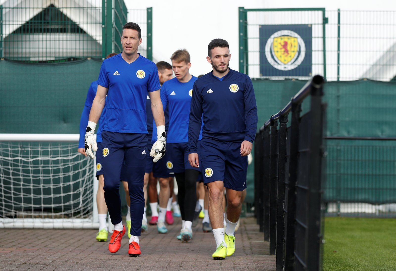 Sunderland: Many fans responded to Jon McLaughlin making his competitive Scotland debut