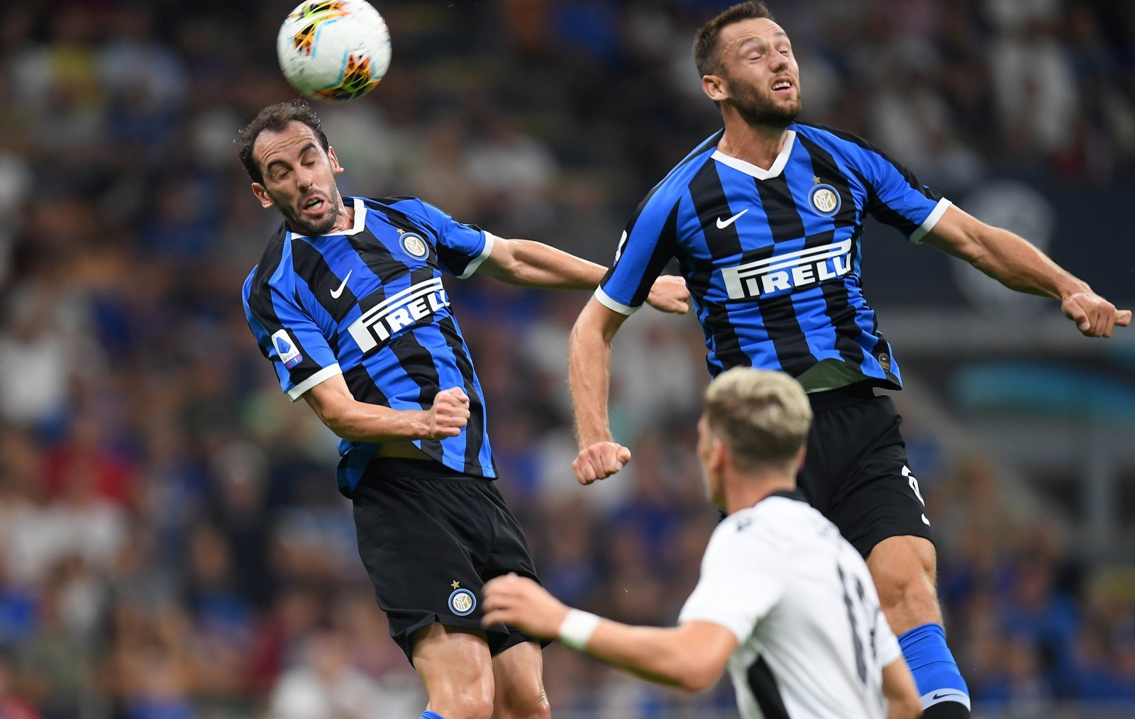 Unsung Hero: Inter's Diego Godin was effective before being forced off through injury