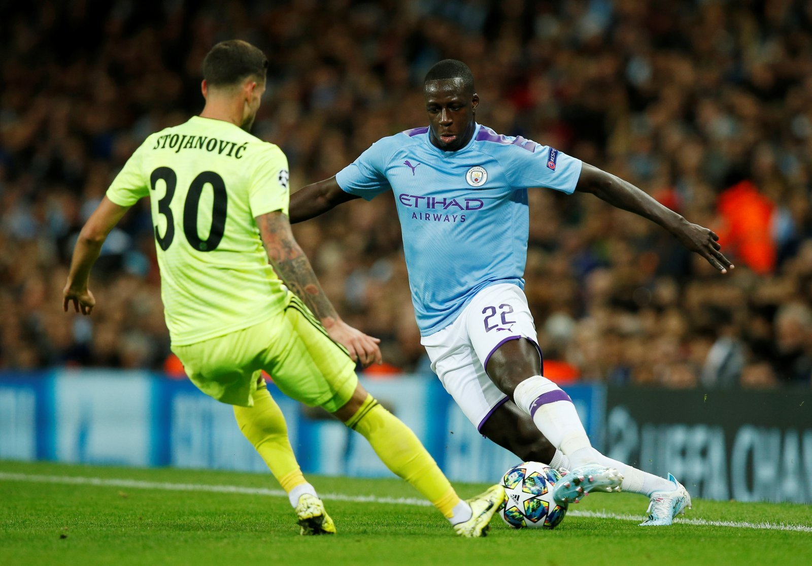 """Manchester City: Many fans have given up on """"shocking"""" Benjamin Mendy after Newcastle draw"""