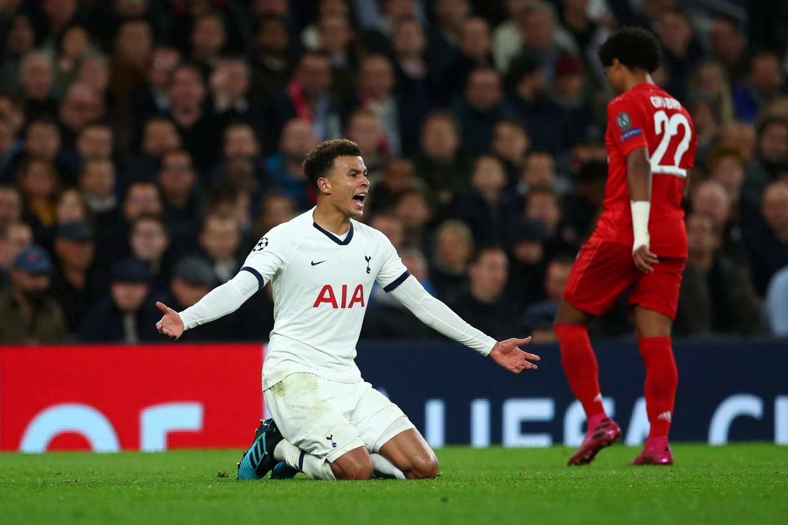 Tottenham Hotspur: Fans were in full support of Dele Alli after the final whistle