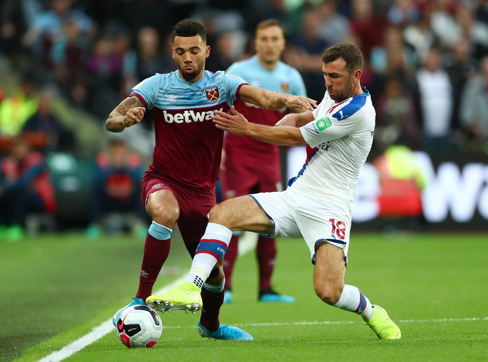 West Ham United: Ryan Fredericks put in a solid performance despite Crystal Palace loss