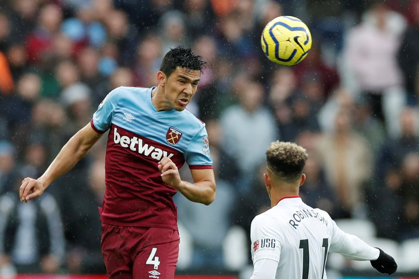 West Ham United: Many fans weren't bothered about Fabian Balbuena's goal