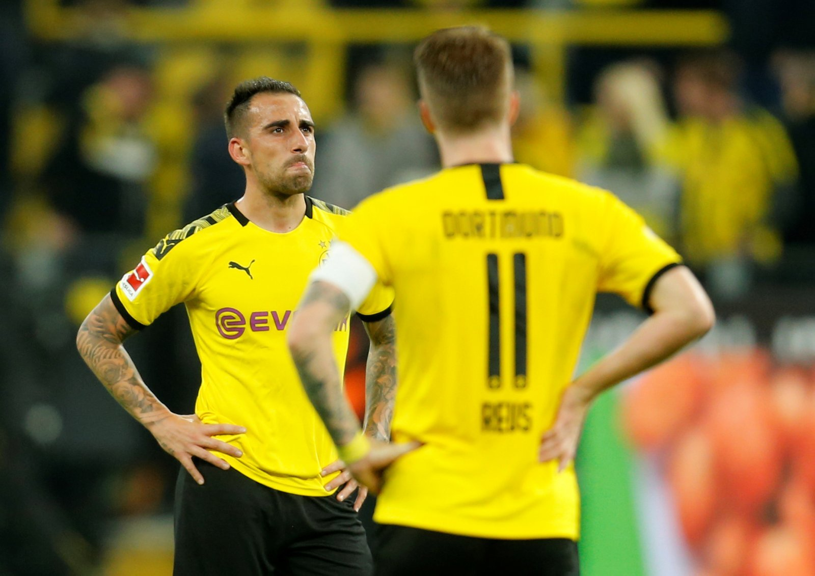 Borussia Dortmund: Lucien Favre without Nico Schulz and Paco Alcacer for Slavia Prague clash