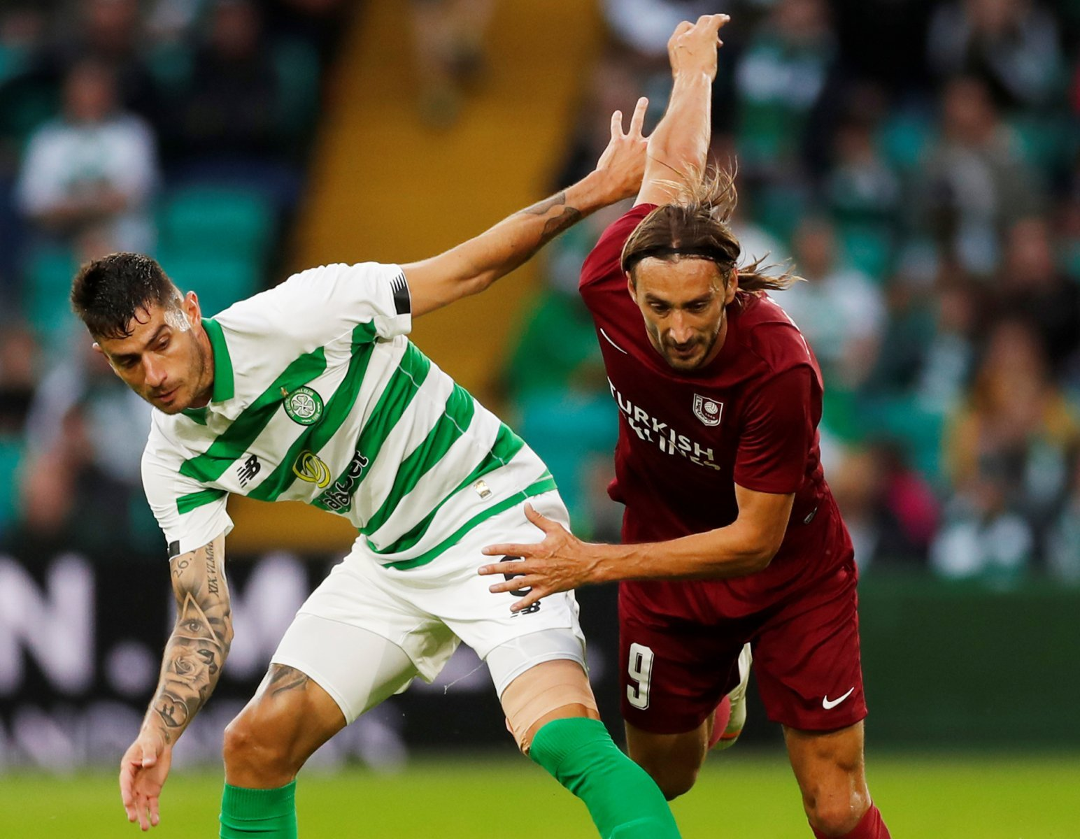 Celtic: Fans send birthday wishes to Nir Bitton and call for new contract