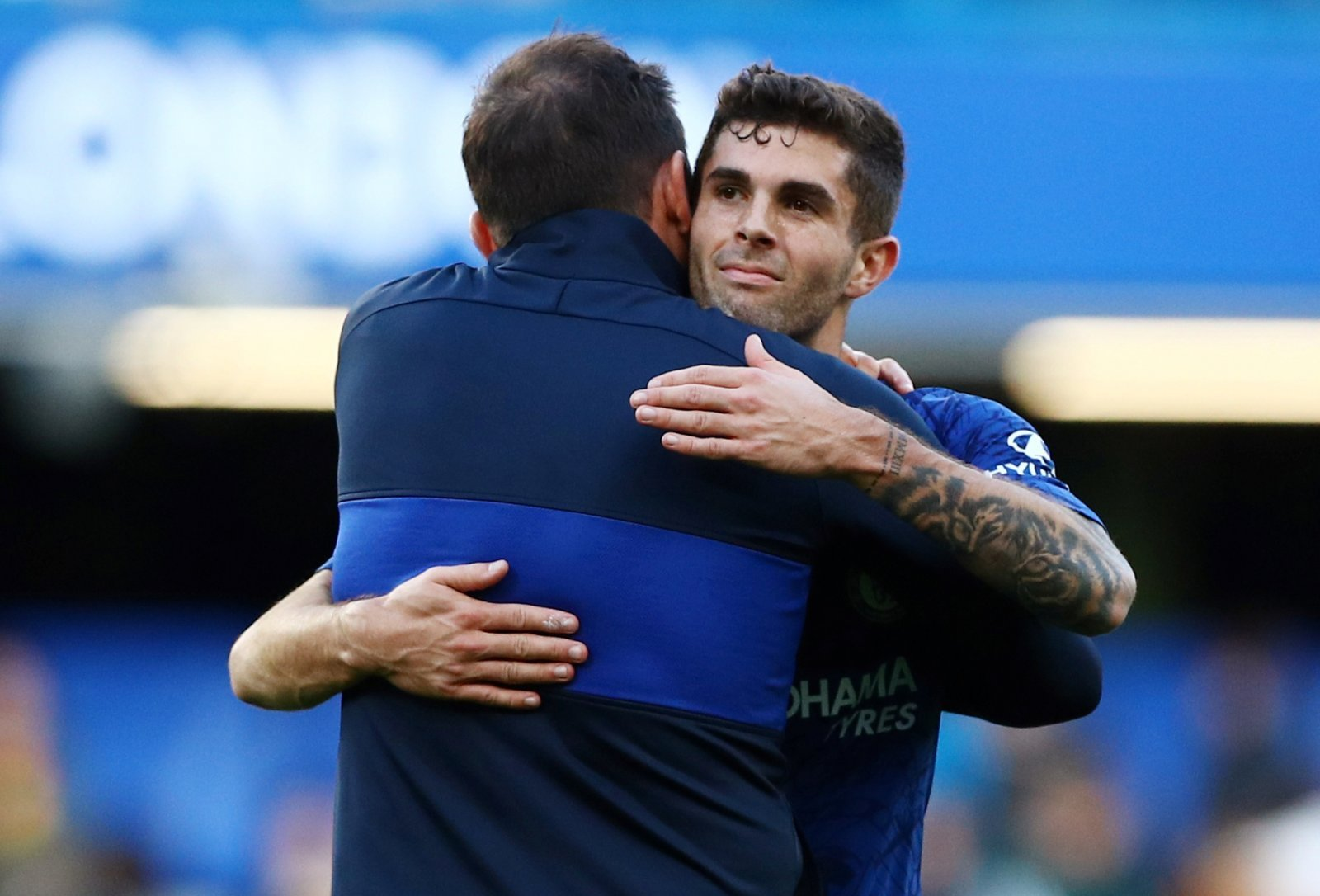 Chelsea: Fans were delighted to see Christian Pulisic come on for Mason Mount
