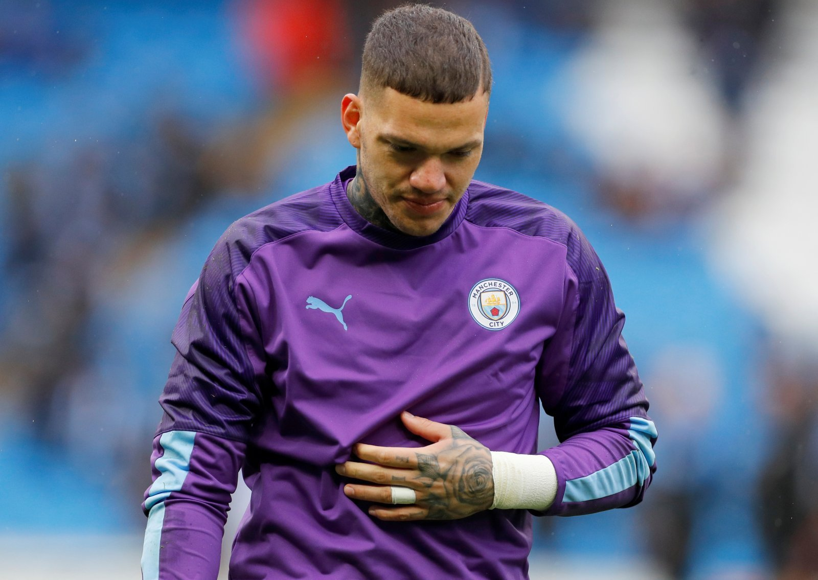 Manchester City's Ederson Out Of Crucial Liverpool Clash