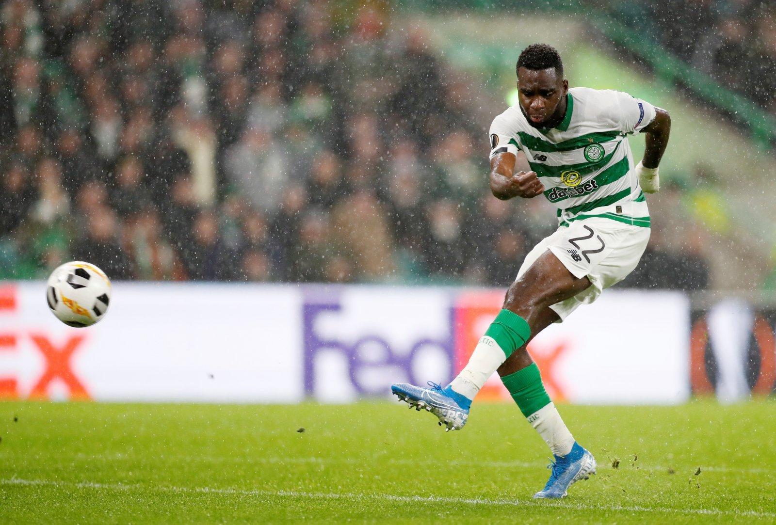 Celtic: Fans call for Odsonne Edouard to be given a new deal after hat-trick
