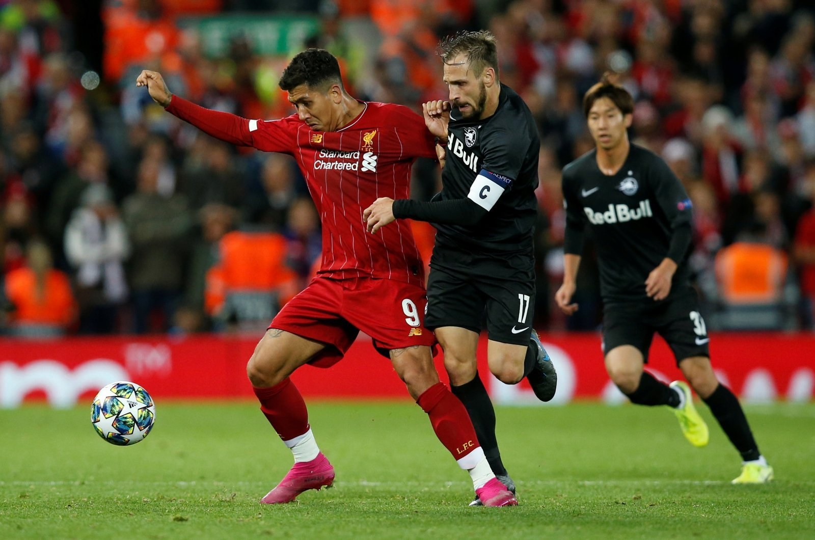 Unsung Hero: Roberto Firmino once again quietly influential as Liverpool edge RB Salzburg