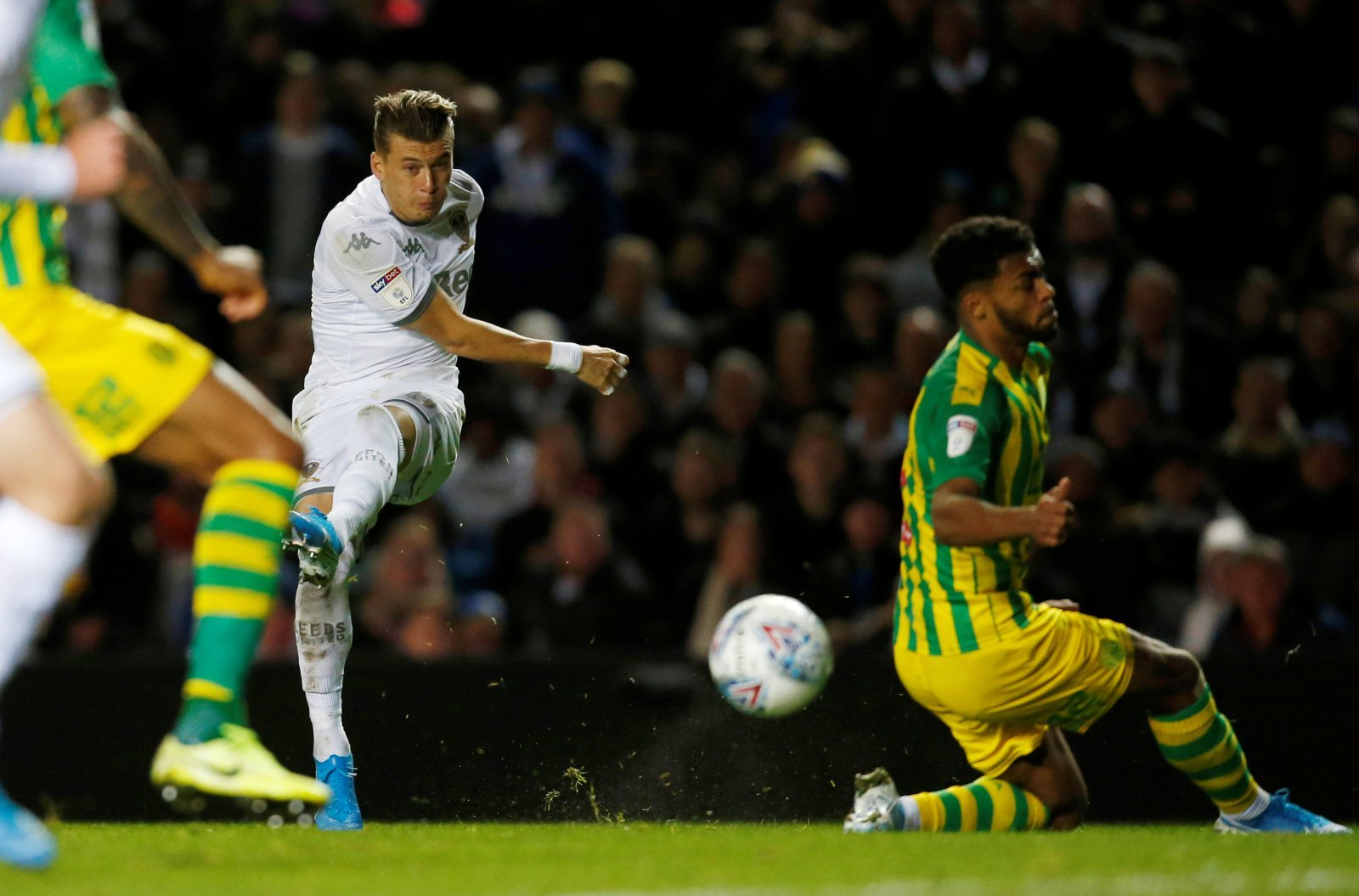 Leeds United: Fans react as EFL mark Ezgjan Alioski's strike against West Bromwich Albion as a Kyle Bartley own goal