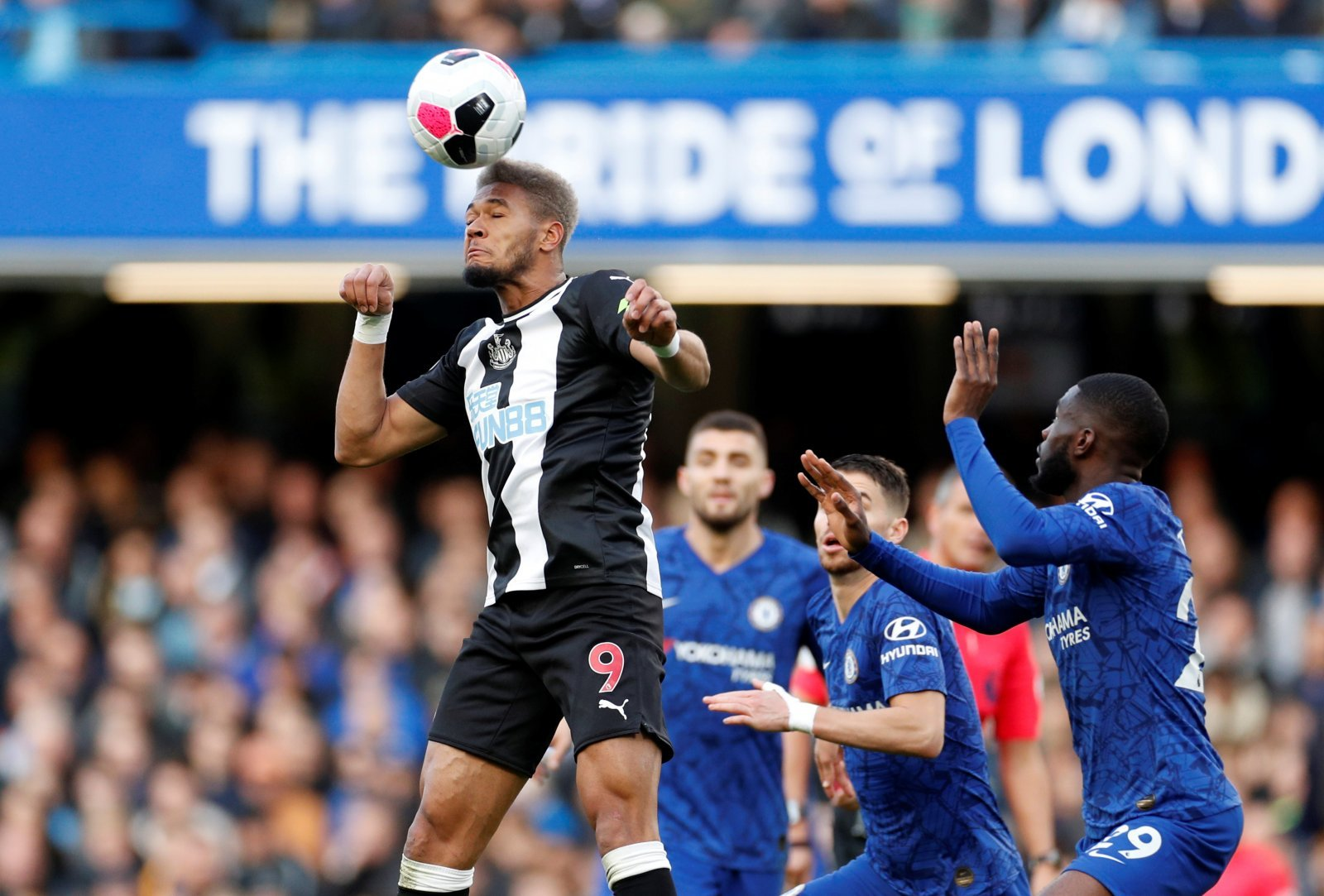 Newcastle United: Fans unsure of Joelinton after 'toothless' performance against Chelsea