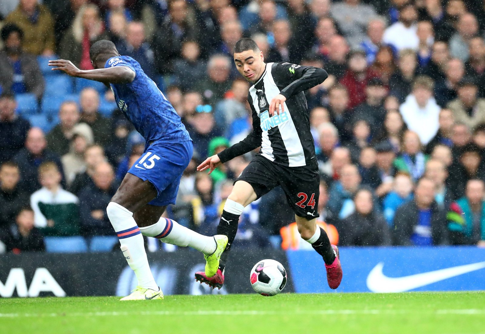 Newcastle United: Fans slam Miguel Almiron for efforts in Chelsea defeat