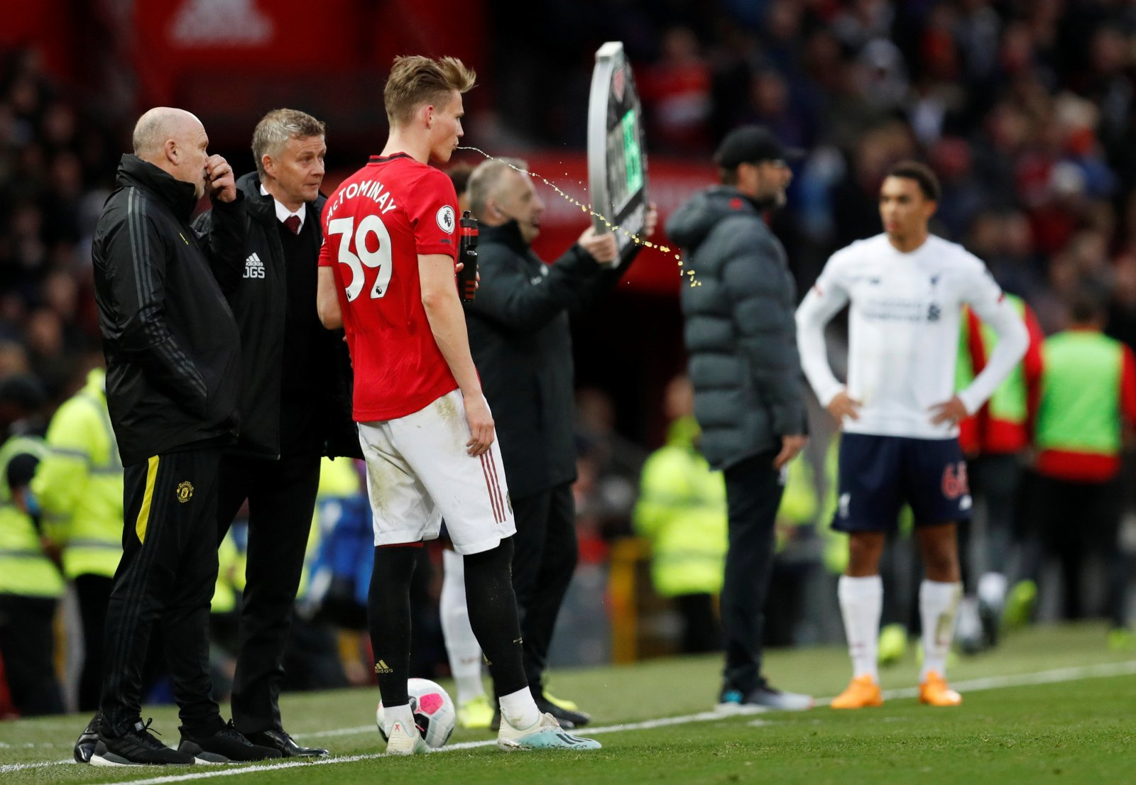 Unsung Hero: Manchester United's Scott McTominay performs brilliantly as Liverpool's winning streak ends