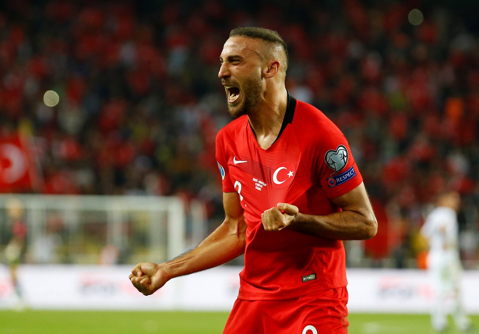 Everton: Fans call for Cenk Tosun to start after scoring winner for Turkey