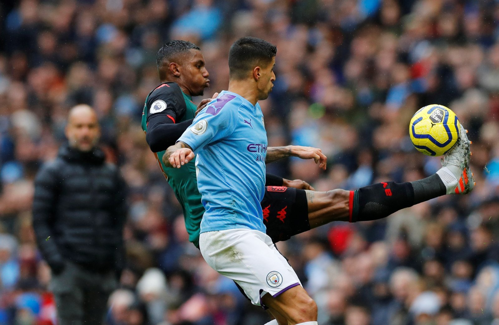 Aston Villa: Fans not happy with Wesley's performance against Manchester City