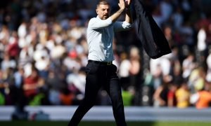 West Bromwich Albion manager Slaven Bilic after the Fulham match