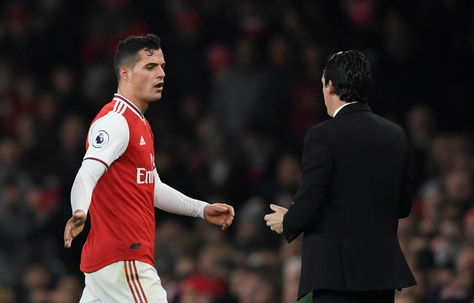 Arsenal: Fans tell Granit Xhaka to leave the club after pointed Instagram post