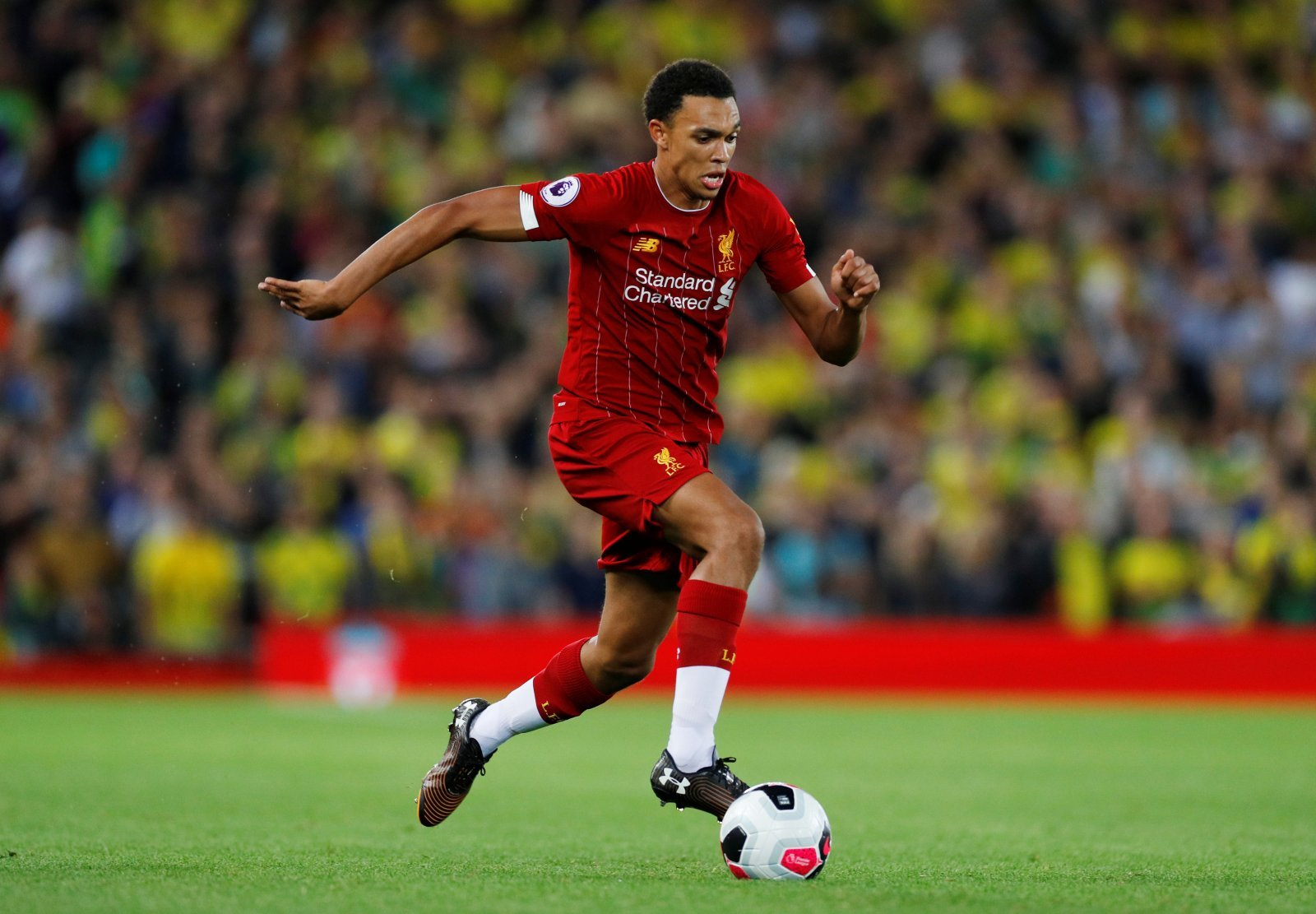 Liverpool: Fans commemorate Trent Alexander-Arnold as he prepares for 100th outing for the Reds
