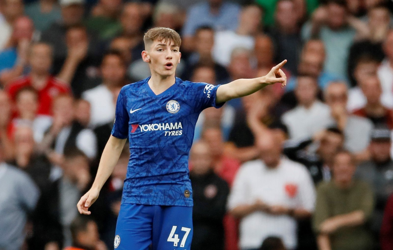 Chelsea: Fans praise mentality of Billy Gilmour